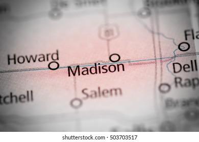 Madison. South Dakota. USA