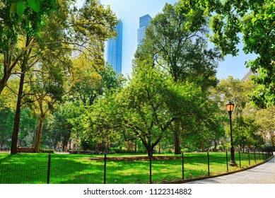 Madison Square Park on 5th Avenue. Urban views of New York. USA.