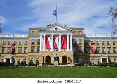 Branding Bascom Hall With Big Red W >> University Of Wisconsin Images Stock Photos Vectors Shutterstock
