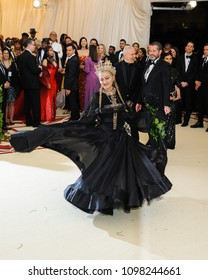 Madonna attends the 2018 Metropolitan Museum of Art Costume Institute Benefit Gala on May 7, 2018 at the Metropolitan Museum of Art in New York, New York, USA
