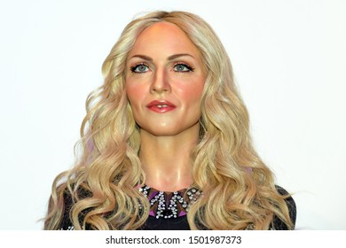 Madonna in Madame Tussauds Las Vegas NV, USA 30-09-18. She is a popular legend known for her constant changes as a pop singer, being the richest performer according to Forbes magazine