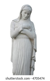 Madonna, Mother of God (statue made of stone)