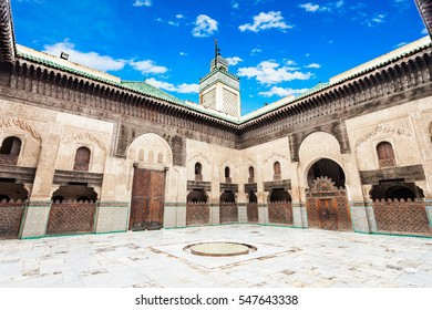 The Madrasa Bou Inania is a madrasa in Fes, Morocco. Madrasa Bou Inania is acknowledged as an excellent example of Marinid architecture.