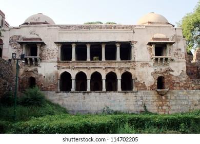 Madrasa at Hauz Khas Complex, New Delhi.