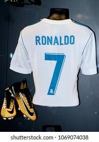 Real Madrid Trikot Herren Home UCL Final Kyiv 2018 Ronaldo 7