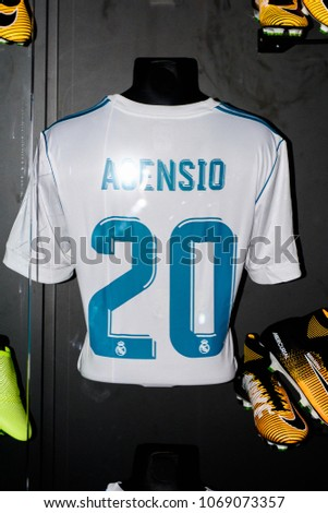 b35ff2b086a MADRID APRIL 14 2018 Marco Asensio Stock Photo (Edit Now) 1069073357 ...