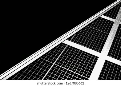 Madrid arquitecture black and white