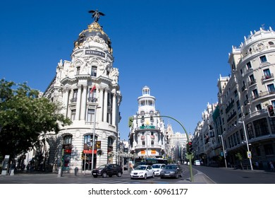 Royalty Free Gran Via Madrid Stock Images Photos Vectors