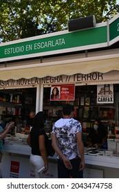 Madrid Book Fair 2021, expo book Madrid 2021, Book Fairy, covid 19, Writer, María Oruña, Estudio en escarlata