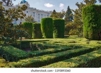 Madrid, Campo del Moro (The Moorish Garden)