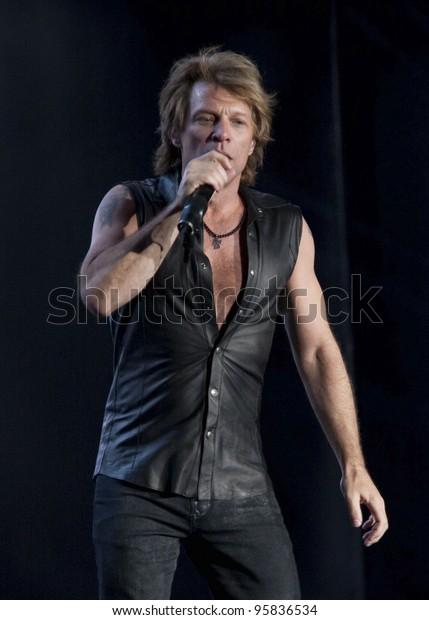 Madrid June 4 Jon Bon Jovi Stock Photo (Edit Now) 95836534