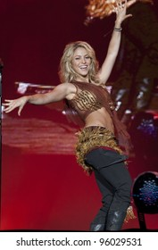 MADRID - JUNE 6: Shakira's concert during the Rock in Rio in Arganda del Rey on June 6, 2010 in Madrid