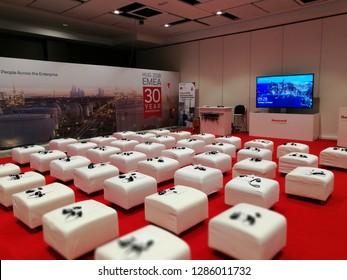 Madrid, Madrid Marriott Auditorium hotel on October 2, 2018. Honeywell EMEA Chanel Partner conference.
