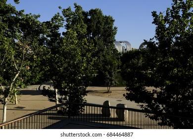 Madrid Rio Park, Spain