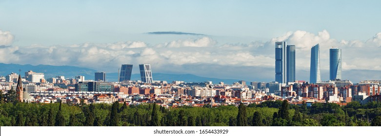 Madrid Skyline Images Stock Photos Vectors Shutterstock