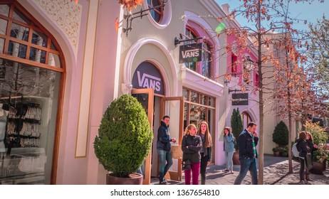 155fc6bba Madrid   Spain - 03 30 2019  Vans brand storefront at Las Rozas village