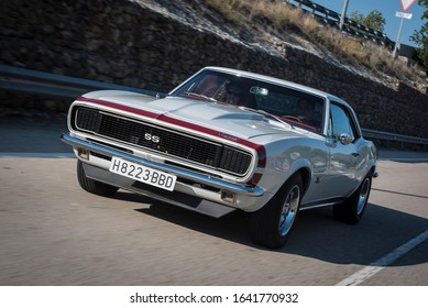 Madrid, Spain, 10/10/2016. The Camaro was first shown in a pre-premiere for the press in Detroit, Michigan, on September 12, 1966