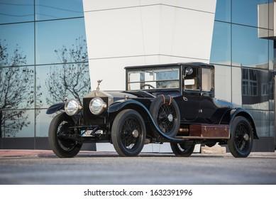Madrid, Spain, 12/06/16, Rolls-Royce Silver Ghost
