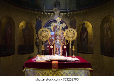 Madrid, Spain, 8-5-2017, Ortodhox church