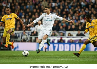 Madrid, Spain. April 11, 2018. UEFA Champions League. Real Madrid - Juventus 1-3. Cristiano Ronaldo, Real Madrid.