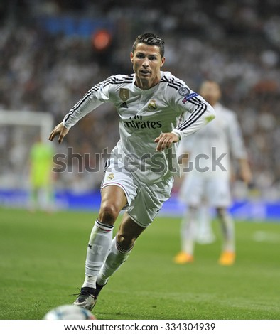 7bf1a6ad5 MADRID SPAIN April 22 Th 2015 CRISTIANO Stock Photo (Edit Now ...