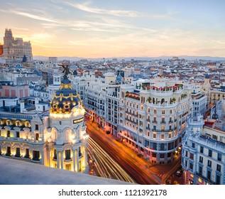 Rooftop Madrid Images Stock Photos Vectors Shutterstock