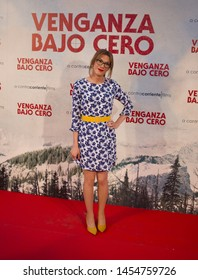 MADRID, SPAIN - July 15, 2019: Cold Pursuit film premiere - Elsa Ruíz