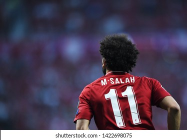 MADRID, SPAIN - JUNE 1, 2019: Mohamed Salah of Liverpool pictured during the 2018/19 UEFA Champions League Final between Tottenham Hotspur (England) and Liverpool FC (England) at Wanda Metropolitano.