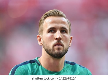 MADRID, SPAIN - JUNE 1, 2019: Harry Kane of Tottenham pictured prior to the 2018/19 UEFA Champions League Final between Tottenham Hotspur (England) and Liverpool FC (England) at Wanda Metropolitano.