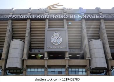 Madrid, Spain november 2,2018 - Santiago Bernabeu - Real Madrid Football club