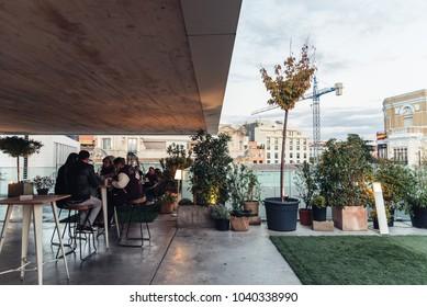 Rooftop Bar Spain Images Stock Photos Vectors Shutterstock