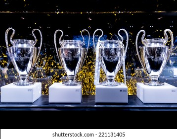 MADRID, SPAIN-AUGUST 18: Real Madrid has won a record ten European Cup/UEFA Champions League titles.