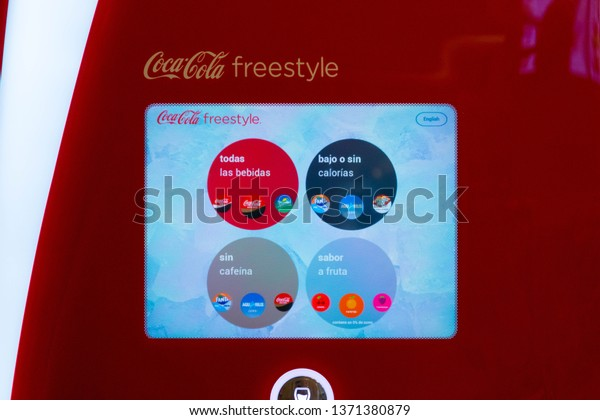 Madridspain 03032019 Coca Cola Soda Drink Stock Photo (Edit