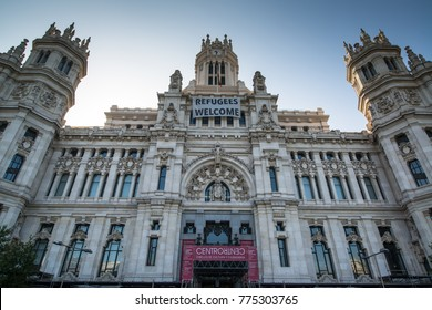 Madrid Refugees Welcome Images Stock Photos Vectors