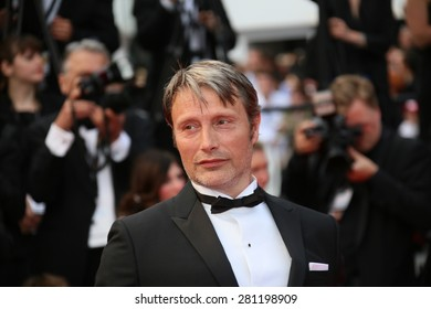 Mads Mikkelsen  attends the closing ceremony during the 68th annual Cannes Film Festival on May 24, 2015 in Cannes, France.