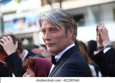 Mads Mikkelsen attends the screening of 'Loving' at the annual 69th Cannes Film Festival at Palais des Festivals on May 16, 2016 in Cannes, France.