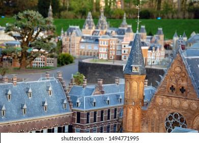 Madurodam, miniature park in the Scheveningen district of The Hague in the Netherlands.