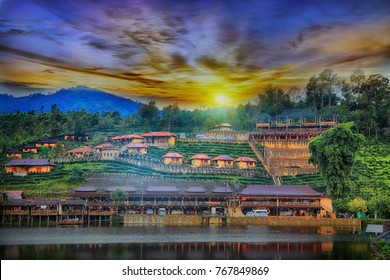 Mae Aw or Rak Thai Village in Pai district, a Chinese settlement in Mae Hong Son province, Northern Thailand.