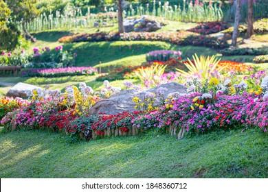 Mae Fah Luang Garden or Doi Tung Royal Villa, Chiang Rai, Thailand