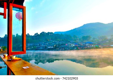 Mae Hong Son, Thailand -Feb 17, 2017: Yunnan Chinese Cultural Village where Yunnan tribesmen have moved to live. This village is one of the most popular attractions of Pai, Mae Hong Son, Thailand.