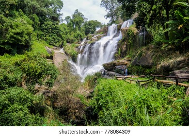 Mae Klang Waterfall, Doi Inthanon National Park, Chiang Mai, Thailand