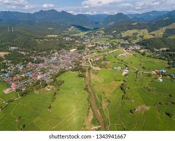 Mae La Noi City in Mae Hong Son Province ,Thailand