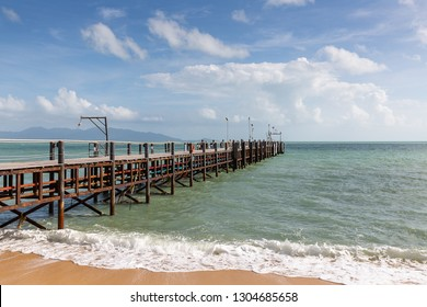 Mae Nam Pier on Ko Samui island, Thailand, Asia