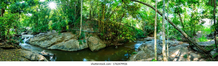 Mae Sa Noi Waterfall in Botanic Garden, Thailand.