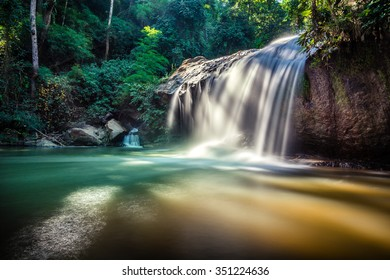 Mae Sa waterfall in Doi Suthep-Pui National Park, Chiang Mai, Thailand