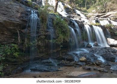 Mae ya waterfall in Chiang Mai. Thailand