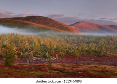 Magadan region, Kolyma, Lake Jack London