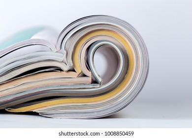 magazine close up