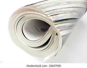magazine close-up