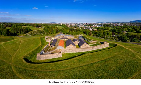 The Magazine Fort is a bastion fort and magazine located within the Phoenix Park, in Dublin, Ireland. Built in 1735, it was occupied by British Armed Forces until 1922 when it was turned over, Ireland